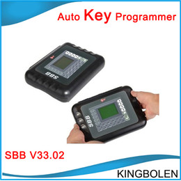 Wholesale Audi Transponder Keys - 2017 Newest Version SBB Key Programmer Locksmith V33 sbb V33.02 TRANSPONDER KEY PROGRMMER Professional Key Maker DHL Free Shipping