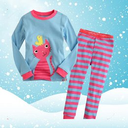 Wholesale Middle Child Clothing - A dress for the children's clothing of children in the middle of the underwear baby sleepwear autumn and winter