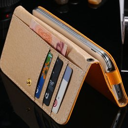 Canada Universel Mini Cas de Téléphone pour Samsung Galaxy S3 S4 S5 PU Couverture En Cuir pour iphone 4s 5s 5c 6 Flip Sac Pour HTC Pour Sony Plein Cas Offre