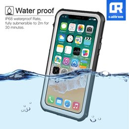 Wholesale Transparent Silica Gel - Callrun new waterproof mobile phone shell for iPhone X for apple X ultra thin full package 10 transparent sleeve silica gel fall prevention
