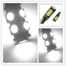 Wholesale T5 5w - 1156 3157 382 BA15S p21w 1157 BAY15D p21 5w bay15d PY21W led light bulb 13 smd 5050 Brake Tail Turn Signal Light Bulb Lamp 12V