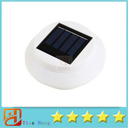 Wholesale Wall Mount Solar Lamp - 20pcs Solar light Powered Super Bright 3 LED Garden Wall Lamp Pathway Path Step Stair Mounted
