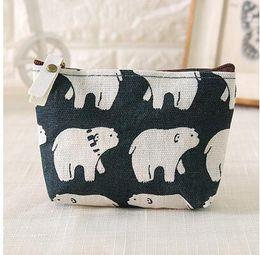 Wholesale Fabrics Wholesalers - Mini female fabric purse coin bag student short small square bag clutch female cosmetic bag