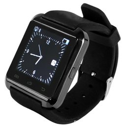 Wholesale Mp3 Camera Watch Cell Phone - Bluetooth U8 Smart Watch Newest U Watch 2 High Quality Smartwatch with Phonebook Call  MP3  Alarm 5S Samsung S5 NOTE 3 Andriod Cell Phone