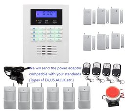Wholesale Gsm Pstn Alarm Systems - Customized Security alarm system kit language in English,French,Russian,Italian,Chinese for option, Smart wireless PSTN GSM alarm system