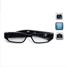 Wholesale Read Design - New Design with Encryption Read Disk Function, Newest 720P HD 5 Mega Pixels Covert Video Camera Glasses Camera DVR, Support Max 32GB