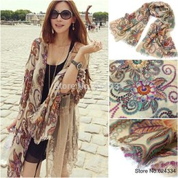 Wholesale Winter Scarf Long - 2015 Limited Horse European And American Style!2014 Winter Brand Designer Retro Totem Scarf Women Echarpes Long Scarves Shawl