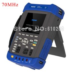 Wholesale Frequency Counter Handheld - Wholesale-HANTEK DSO8072E 70MHz 6 IN1 Handheld Digital Oscilloscope+Signal generator+DMM+Recorder+Frequency counter+FFT Spectral analysis