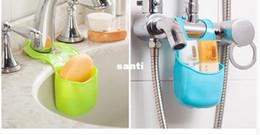 Wholesale Toilet Soap Wholesalers - New Arrive Sponge storage rack basket wash cloth Toilet soap shelf Organizer kitchen gadgets Accessories Supplies Products