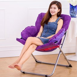 Wholesale computer sofa - Fashion Foldable Living Room Computer Chair Soft Furniture Sofa Leisure Chairs For Kids Women Best Gifts 5 Colors Available Free Shipping