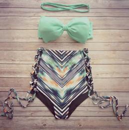 Ensemble de bikini bandeau réversible biquini maillot de bain bikini femme maillot de bain trajes de bano Imprimer Maillot de bain maillot de bain femme ? partir de fabricateur