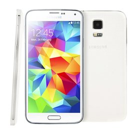 """Wholesale Android Cell Phone Galaxy - Original Unlocked Samsung Galaxy S5 5.1"""" G900T i9600 Cell Phones Quad Core 2GB RAM 16GB ROM Android Mobile Phone Refurbished Smartphone"""