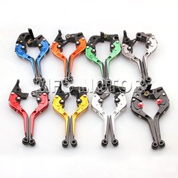 Wholesale R Brakes - CNC Folding Extending Clutch Brake Levers For Ducati 749 999 S R 2003 2004 2005 2006
