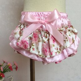 Wholesale Butterfly Bloomers - Wholesale-Europe and the United States Girls of Summer Baby Bloomer Short Pants Baby PP Pants and Butterfly Children's Diaper