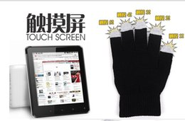 Wholesale Galaxy S4 Air - 5 fingers touch gloves warm winter gloves for iphone 6 6 plus 5s samsung galaxy Note 4 S5 S4 IPAD AIR 2 mini 3 2