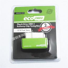 Argentina EcoOBD2 Economy Chip Tuning Box OBD Ahorro de combustible del coche para Benzine Gasoline Cars Fuel Saving 15% Envío gratis Suministro