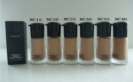 Wholesale Makeup Mineralize - FREE SHIPPING new makeup Professional MINERALIZE SPF 15 liquid foundation 30ML