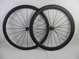 Wholesale 38mm Carbon Clincher Wheels - Carbon road bike wheels front wheel 38mm and rear wheel 50mm clincher tubular bicycle wheelset basalt brake surface 700c clear coat 3K matte