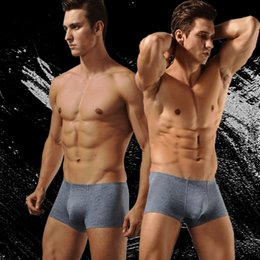 Wholesale Mens Pouch Underwear Sheer - Mens Underwear Boxers Male Panties Pouch Sheath Sheer Underpants Men Tight Underpants Boxer Shorts