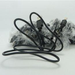 Wholesale Mini Dv Mp3 - V3 Mini Usb Sync Cable Usb Data Charge Cable For Digital Camera Hard Drives Mp3 Mp4 Dv Mobile Phone 800mm OD3.5mm 5p