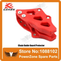 Wholesale Bike Parts Chain Guard - CR 125 250R CRF 250R 250X 450R 450X 30mm Chain Guide Guard Sprocket Guard Protector Fit CRF Motorcross Dirt Bike Free Shipping