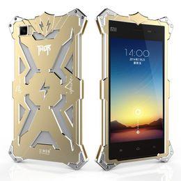 Wholesale Original Xiaomi Mi3 - xiaomi 3 mi3 xiaomi3 xiaomi mi 3 mi3 Original Design Cool Metal Aluminum Armor THOR IRONMAN protect phone cover shell case