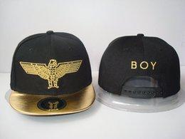Wholesale Animal Baseball Caps For Kids - 2016 new gold brand boy adjustable baseball snapback hats and caps for kid children sports hip hop fashion gorras sun bone cap