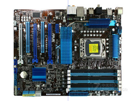 Wholesale Asus 1366 Motherboard - Wholesale-original motherboard for ASUS P6X58D-E LGA 1366 DDR3 for i7 cpu 24GB USB3.0 SATA3 X58 Desktop motherboard boards Free shipping