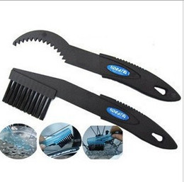 Wholesale Cycle Cleaning Brushes - bicycle chain brush bicycle chain cycling bike clean cleaning brush Outdoor Tools Cleaner Scrubber 200 sets