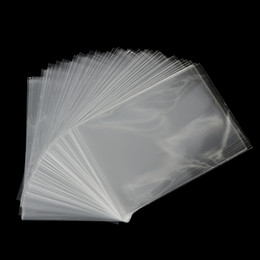 Wholesale Wholesale Cookie Bags Supply - Wholesale- 100Pcs lot Clear Sweets Cookies Lollipops Cake Cellophane Bags Packaging Candy Cookie Plastic Bag Wedding Party Supplies