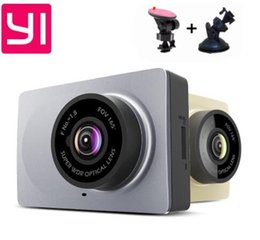 Wholesale Wireless Camera Sd Card - Upgrade International Edition Xiaomi YI Smart Car DVRs camera Wifi wireless Xiaoyi ADAS dvr Camera Dash Cam 1296P 1080P 60fps car dvr