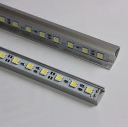 Wholesale 12v Led Car Flashlight - SMD5050 led bar lights DC 12V 36LEDs 0.5M 50cm LED Hard Strip Bar Car Light with U V-shaped Aluminium alloy shell