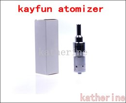 Wholesale Stainless Cartomizer - Electronic Cigarette Kayfun 3.1 Atomizer Kayfun 3.1 cartomizer for E CigarettePipe Mod Stainless Steel Airflow Control Bottom ithaka Instock