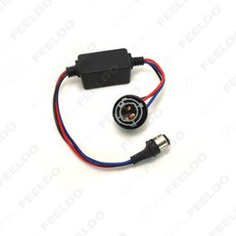 Wholesale Error Free Bay15d - FEELDO DC12V 1157 BAY15d Turn Signal Socket Warning Error Canceller Error Free Load Resistor LED Decoder #2268