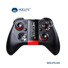 Wholesale Portable Console Android - Original MOCUTE 054 Bluetooth Game Console Remote Control Gamepad Android Joystick Mini Portable Wireless Bluetooth Controller VR Video Musi