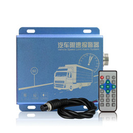 Wholesale Vehicle Specials - SF-301 Vehicle Speed Limiter Diesel Electric Truck Bus Speed Governor Warning Alarm System LED Speed Display for Special Vehicle AT