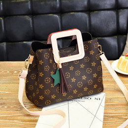 Wholesale Boston Messenger Bags - Boston handbags handbags printed Wild Pillow Luxury Handbags Crossbody For Women Famous Brands Messenger Bags Designer