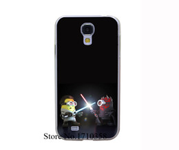 Wholesale S3 Star Wars - Wholesale-me inspired minions star wars Transprent Hard Case Cover for Samsung Galaxy S6 & Edge S5 & Mini S3 & Mini S4 &
