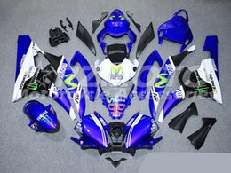 Wholesale Motorcycle Race Bodywork - New ABS Injection Mold motorcycle bike Fairings kits bodywork set Fairing Fit For YAMAHA YZF-R6 2006 2007 YZF 600 06 07 R600 R6 Racing bike