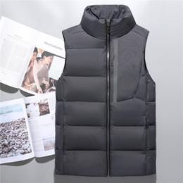 Wholesale Gold Vest Men - Top Quality Winter men north Down vest Camping Windproof Ski Warm Down Coat Outdoor Casual Hooded Sportswea vest 03