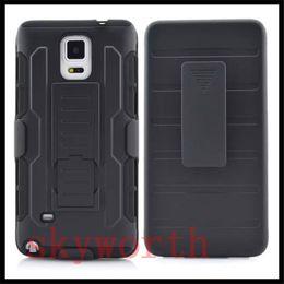 Wholesale Galaxy Note Defender Clip - For Samsung Galaxy S6 edge+ Note 5 Edge Plus Future Armor Impact Hybrid Hard Case Belt Clip Kickstand Combo Defender Cover