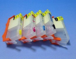 Wholesale Ink Hp364 - for HP364 HP178 HP862 Refillable ink Cartridge for HP B110 C309A C309G b109 CN245C CN503C CQ521C B209; 5 colors