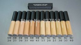 Wholesale Cheap Dropship Wholesale - 12PC MC Hot Cheap Brand Makeup SELECT MOLSTURECOVER CACHE-CERNES Concealer face and eye primer 5ML dropship free shipping