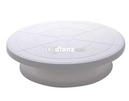 "Wholesale Cake Turntable Plastic - New Arrive Pro 11"" Rotating Revolving Cake Sugar craft Turntable Decorating Stand Platform"