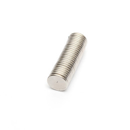 Wholesale Neodymium Fridge Magnets - 50pcs Neodymium Disc Magnets 8x1 mm craft fridge magic strong thin 8mm x 1mm Round Magnet N40
