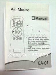 Wholesale Dropshipping Wireless Mouse - Wholesale-Free Shipping New 1pcs Lot Wireless Air Mouse for Smart TV Dual Core Android TV Box&Dropshipping