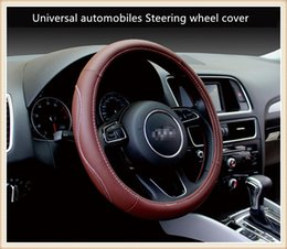 Wholesale accessories for automobiles - New car accessories Universal automobiles Steering wheel cover suitable for 38cm car styling