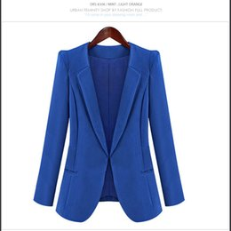 Wholesale Womens Lapel Casual Suits Blazer - Womens Elegant Casual Suits Stylish Design Lapel Blazer for Office Lady Black Work Suits For Women 4