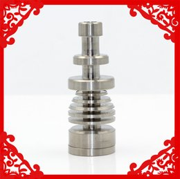 Wholesale Flat Head Nails - opi nail Good quality GR2 Titanium Level Carb Cap High quality Domeless Titanium Carb Cap with Wax Oil Dabber Flat Head