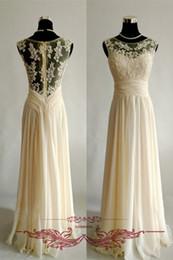 Cream gold evening dresses